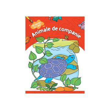 Animale de companie- Carte de colorat cu apa (Kreativ)
