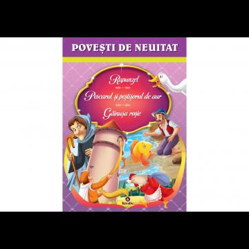Povesti de neuitat Rapunzel, Pescarul si pestisorul de aur, Gainusa rosie (Kreativ)