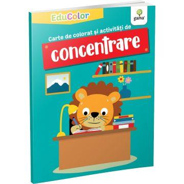 Carte de colorat si activitati de concentrare (EduColor) (Gama)