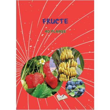 Fructe - 40 planse (Ars libri)
