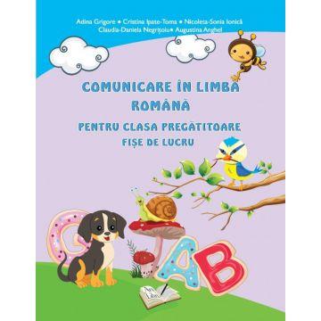 Comunicare în limba romana pentru clasa pregatitoare-Fise de lucru (Ars libri)