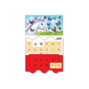 Joc educativ LUK, Unicornul Istet, exercitii distractive, varsta 5+ (Kreativ)