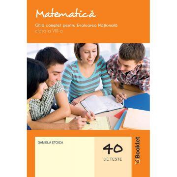 Matematica. Ghid complet pentru Evaluarea Nationala – clasa a VIII-a 2020 (Booklet)