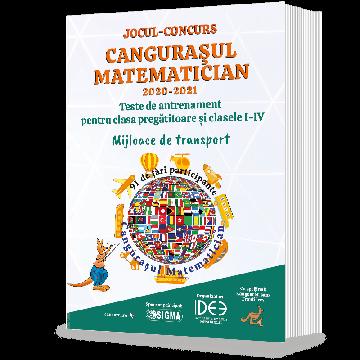 Cangurasul matematician – 2021. Teste de antrenament pentru clasa pregatitoare si clasele I-IV (Sigma)