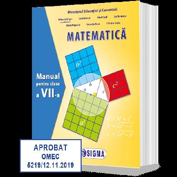MATEMATICA. Manual pentru clasa a VII-a (Sigma)