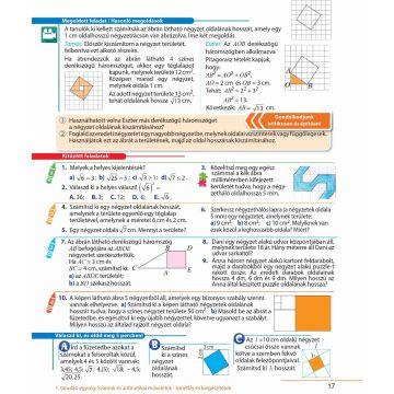 MATEMATICA. Manual pentru clasa a VII-a (in limba maghiara)  (Sigma)