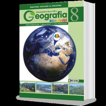 Geografie manual pentru clasa a VIII-a (Sigma)