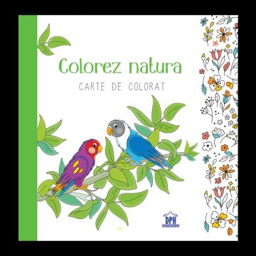 Colorez natura - Carte de colorat (DPH)