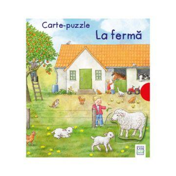 Carte-puzzle La ferma (Editura Casa)