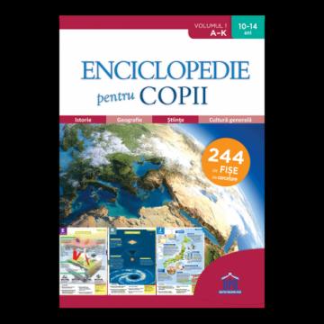 Enciclopedie pentru copii - Volumul 1 - De la A la K (DPH)