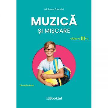 Muzica si miscare – clasa a III-a (Booklet)