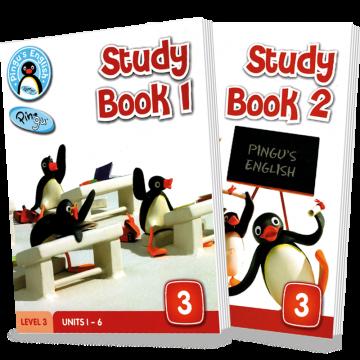 PINGU'S ENGLISH STUDY BOOK (1+2) – LEVEL 3 (Sigma)