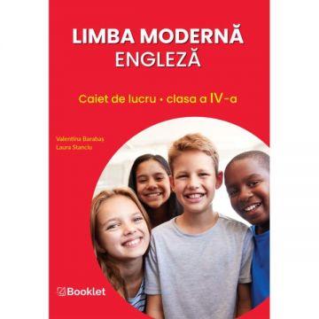Limba moderna engleza – caiet de lucru pentru clasa a IV-a (Booklet)