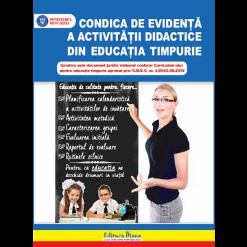 Condica de evidenta a activitatii didactice din educatia timpurie (Caietul educatoarei) (Diana)