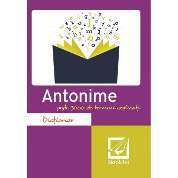 Dictionar de antonime (Booklet)