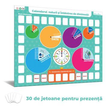 Calendarul naturii si Intalnirea de dimineata pentru prescolari si scolari mici (Diana)