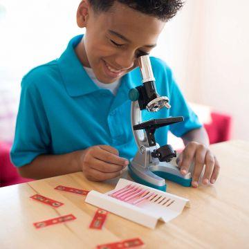Educational Insights Set diapozitive pentru microscop