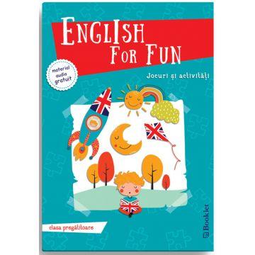 English for Fun – Jocuri si activitati pentru clasa pregatitoare (Booklet)