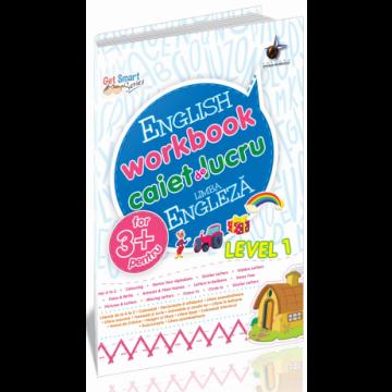 English workbook caiet de lucru limba engleza 3+ Level 1 (Steaua Nordului)