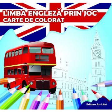 Carte de colorat - Limba engleza prin joc (Ars Libri)