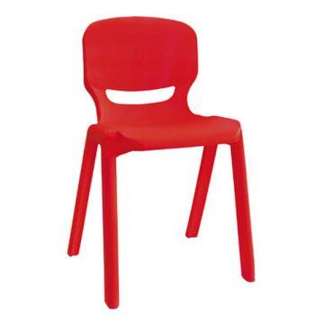 Scaun Gimnaziu/liceu Ergos 06 Roșu