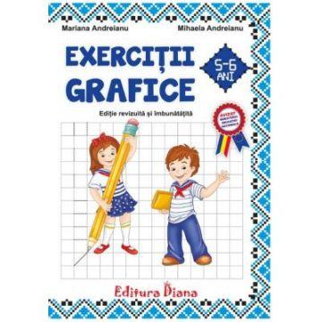 Exercitii grafice B5 5-6 ani 2020