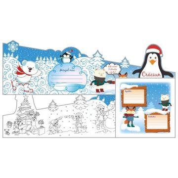 Felicitare In lumea lui Pingu