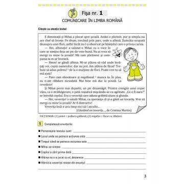 Fişe de recapitulare şi evaluare finală clasa a II-a (Elicart)