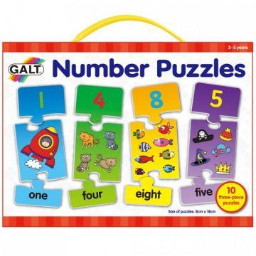 Galt Puzzle cu numere (3 piese)