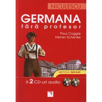 Germana fara profesor & 2 CD-uri audio. Metoda instant