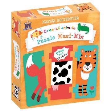Puzzle maxi - mix. Creeaza animale (DPH)
