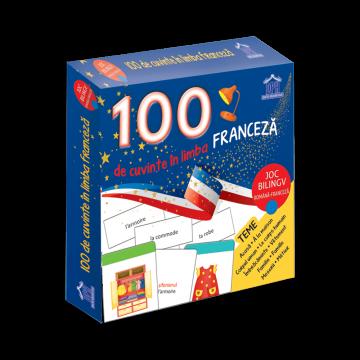 100 de cuvinte in limba franceza - Joc bilingv (DPH)