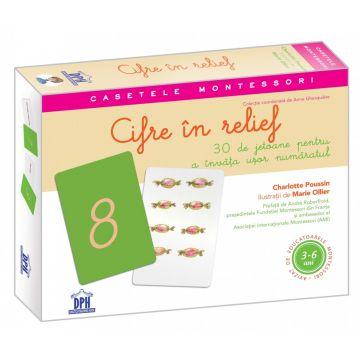 Cifre in relief - 30 de jetoane (DPH)