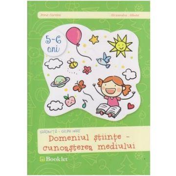 Gradinita, grupa mare- Domeniul cunoasterea mediului (Booklet)