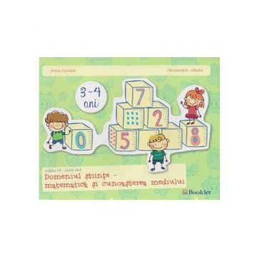 Gradinita grupa mica, matematica si cunoasterea mediului (Booklet)