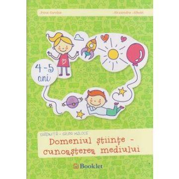 Gradinita grupa mijlocie, cunoasterea mediului (Booklet)