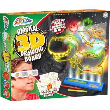 Grafix Set creativ - Dinozauri 3D