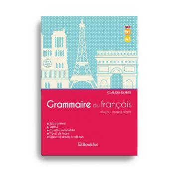 Grammaire du Francais - substantivul, verbul, tipuri de fraze, discursul direct si indirect (Booklet)