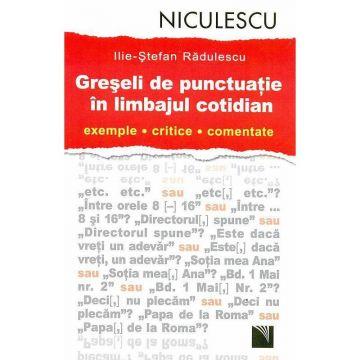 Greseli de punctuatie in limbajul cotidian