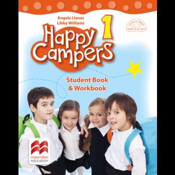 Happy campers. Student Book, Workbook. Clasa I (Litera)