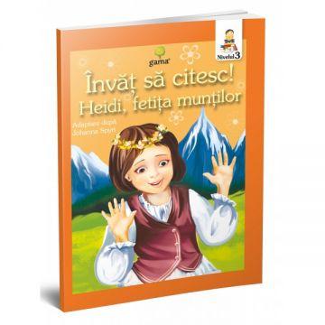 Heidi, fetita muntilor- INVAT SA CITESC! NIVELUL 3 (GAMA)