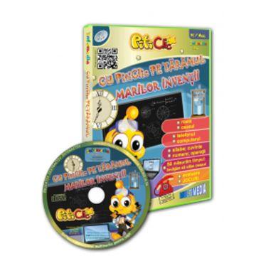 Cu PitiClic pe taramul marilor inventii! (CD-ROM) 3-7 ani