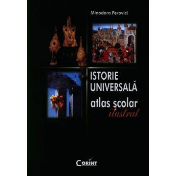 Istorie universala. Atlas scolar ilustrat- Perovici (Corint)