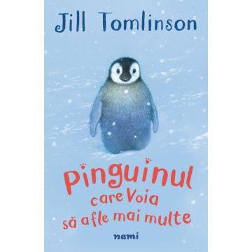 Pinguinul care voia să afle mai multe (Nemira)