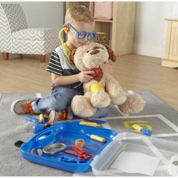 Learning Resources Joc de rol - trusa micului medic