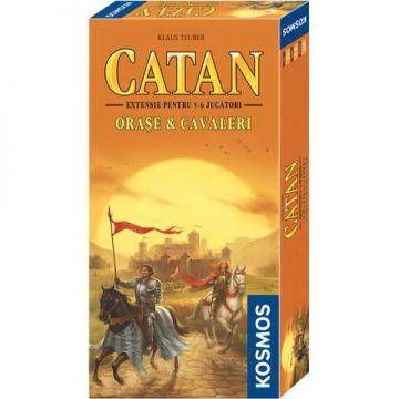 Kosmos Colonistii din Catan - Orase si cavaleri (extensie 5-6 jucatori)