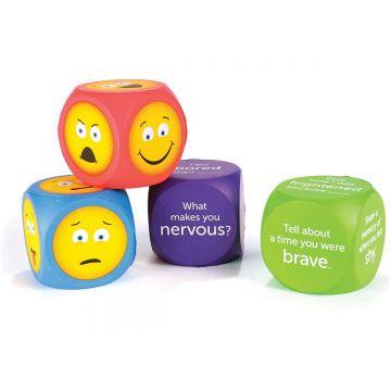 Learning Resources Cuburi pentru conversatii - EMOJI