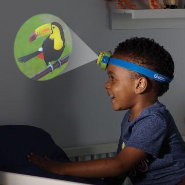 Learning Resources Proiector 2 in 1 - Lanterna de cap