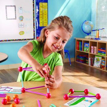 Learning Resources Set constructie - Forme 3D - Explorers