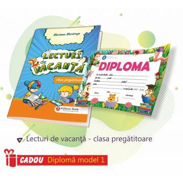 LECTURI DE VACANTA PENTRU CLASA PREGATITOARE (DIPLOMA CADOU)
